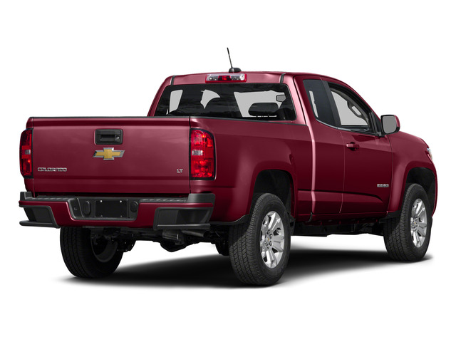 Red Rock Metallic 2015 Chevrolet Colorado Pictures Colorado Extended Cab LT 4WD photos rear view