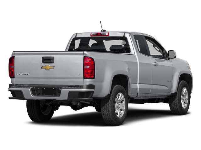 Silver Ice Metallic 2015 Chevrolet Colorado Pictures Colorado Extended Cab LT 4WD photos rear view