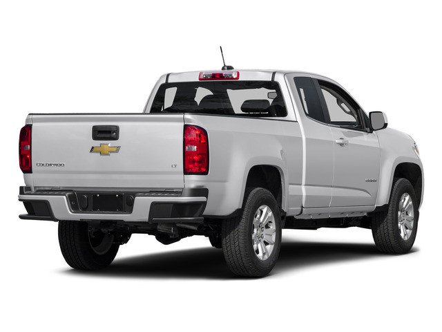 Summit White 2015 Chevrolet Colorado Pictures Colorado Extended Cab LT 4WD photos rear view
