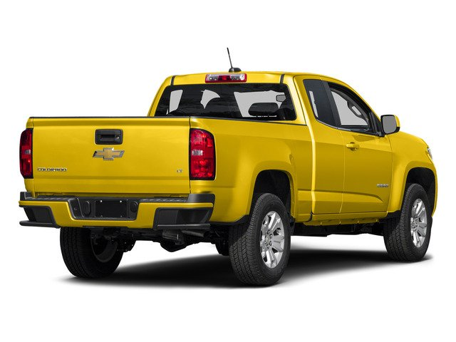 Rally Yellow 2015 Chevrolet Colorado Pictures Colorado Extended Cab LT 4WD photos rear view