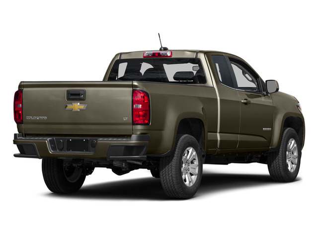 Brownstone Metallic 2015 Chevrolet Colorado Pictures Colorado Extended Cab LT 4WD photos rear view