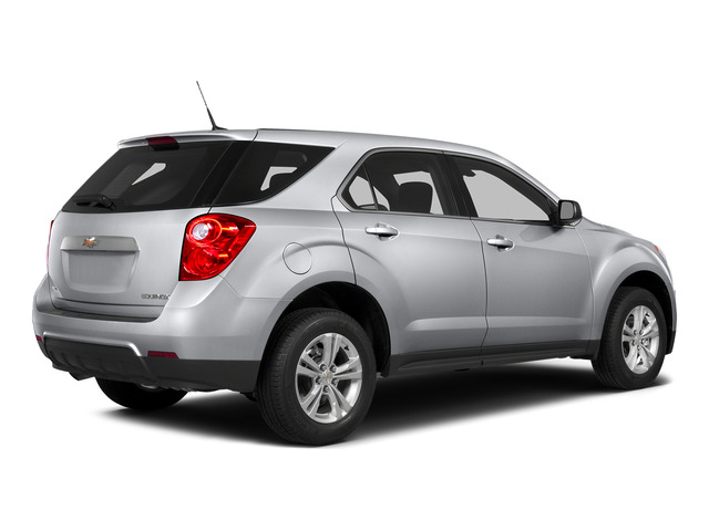 Silver Ice Metallic 2015 Chevrolet Equinox Pictures Equinox Utility 4D LS AWD I4 photos rear view