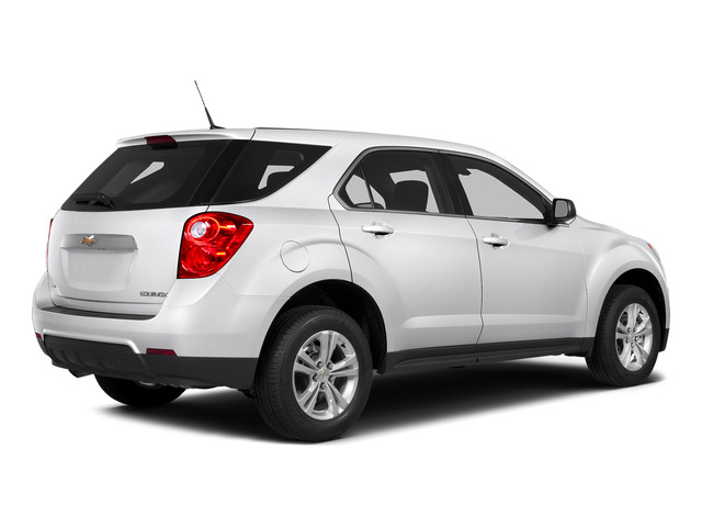 Summit White 2015 Chevrolet Equinox Pictures Equinox Utility 4D LS AWD I4 photos rear view