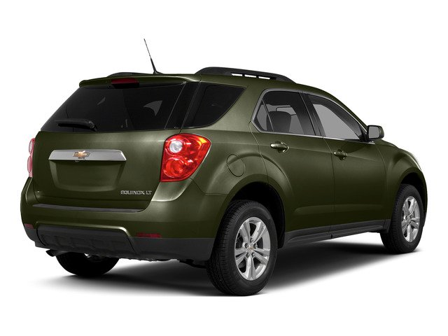 Sea Grass Metallic 2015 Chevrolet Equinox Pictures Equinox Utility 4D 2LT AWD I4 photos rear view