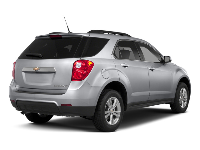 Silver Ice Metallic 2015 Chevrolet Equinox Pictures Equinox Utility 4D 2LT AWD I4 photos rear view