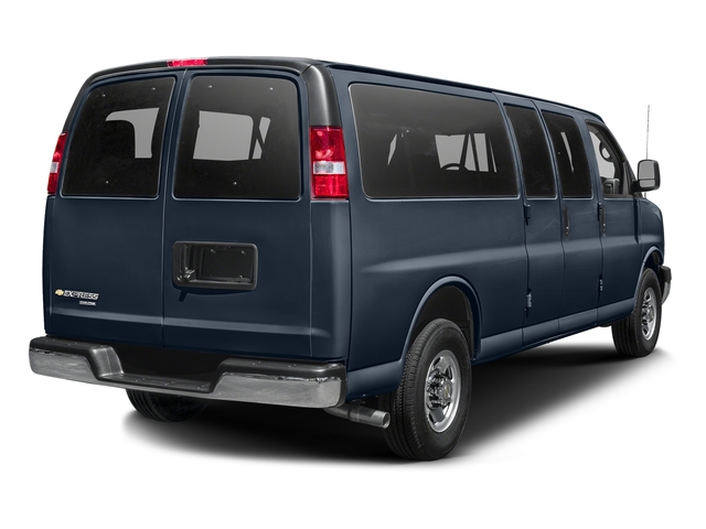 Dark Blue Metallic 2015 Chevrolet Express Passenger Pictures Express Passenger Express Van LT 135 photos rear view