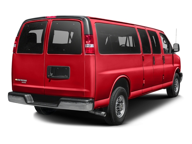 Red Hot 2015 Chevrolet Express Passenger Pictures Express Passenger Extended Express Van LS 155 photos rear view