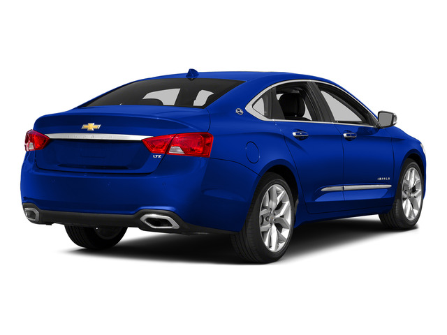 Blue Velvet Metallic 2015 Chevrolet Impala Pictures Impala Sedan 4D LT V6 photos rear view