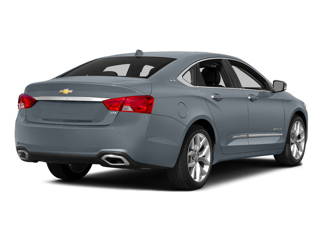 Iridescent Pearl Tricoat 2015 Chevrolet Impala Pictures Impala Sedan 4D LT V6 photos rear view