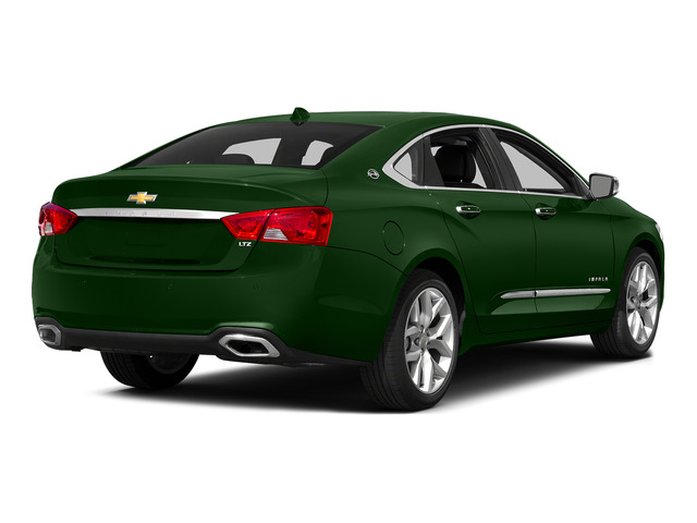 Rainforest Green Metallic 2015 Chevrolet Impala Pictures Impala Sedan 4D LT V6 photos rear view