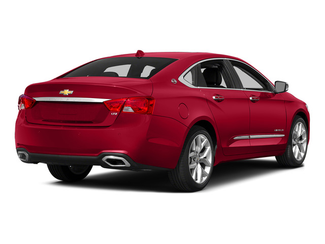 Red Rock Metallic 2015 Chevrolet Impala Pictures Impala Sedan 4D LT V6 photos rear view