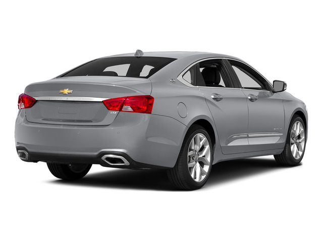 Silver Ice Metallic 2015 Chevrolet Impala Pictures Impala Sedan 4D LT V6 photos rear view