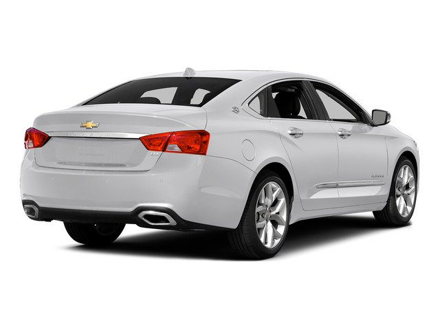 Summit White 2015 Chevrolet Impala Pictures Impala Sedan 4D LT V6 photos rear view