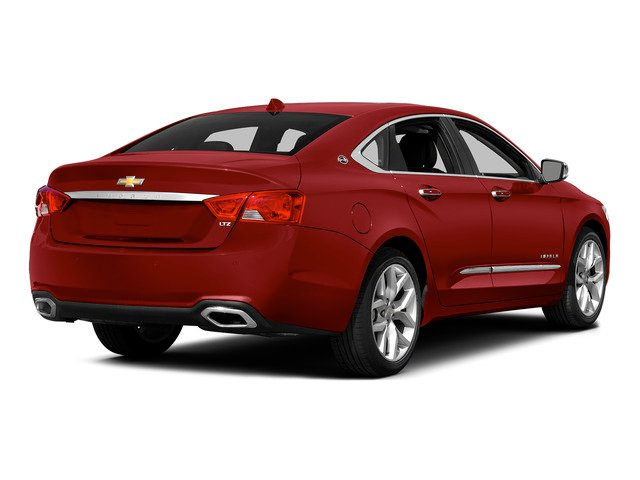 Crystal Red Tintcoat 2015 Chevrolet Impala Pictures Impala Sedan 4D LT V6 photos rear view