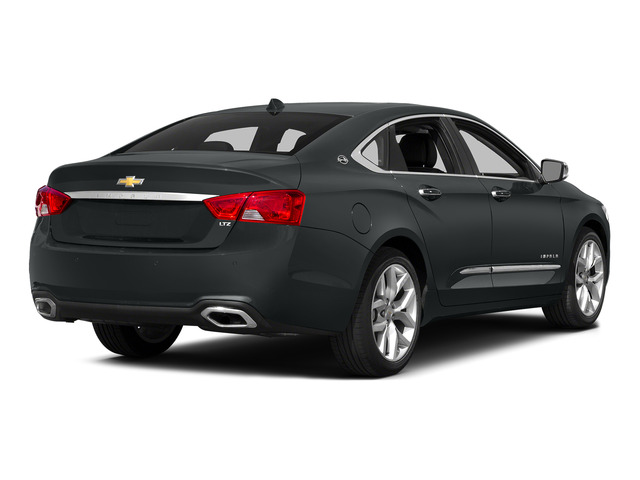 Ashen Gray Metallic 2015 Chevrolet Impala Pictures Impala Sedan 4D LT V6 photos rear view