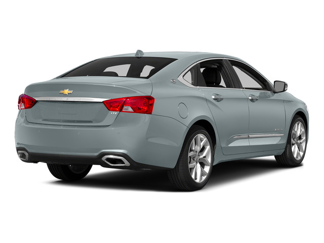 Silver Topaz Metallic 2015 Chevrolet Impala Pictures Impala Sedan 4D LT V6 photos rear view