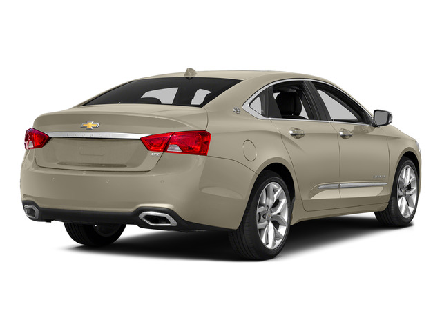 Champagne Silver Metallic 2015 Chevrolet Impala Pictures Impala Sedan 4D LT V6 photos rear view