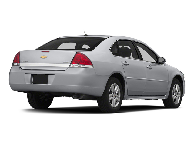 Silver Ice Metallic 2015 Chevrolet Impala Limited Pictures Impala Limited Sedan 4D LS V6 photos rear view