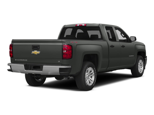 Slate Grey Metallic 2015 Chevrolet Silverado 1500 Pictures Silverado 1500 Extended Cab LTZ 2WD photos rear view