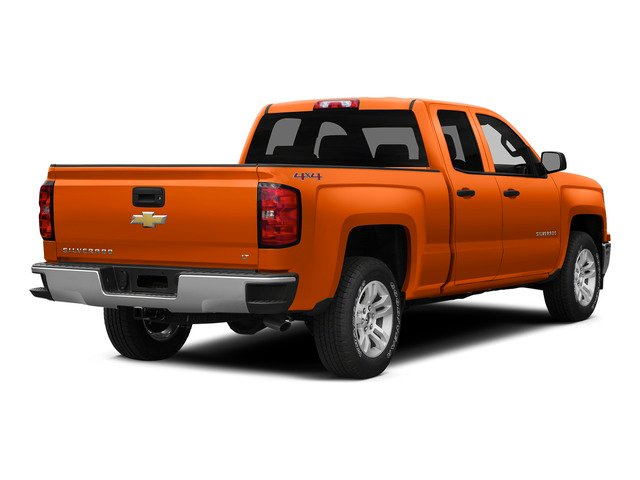 Sunset Orange Metallic 2015 Chevrolet Silverado 1500 Pictures Silverado 1500 Extended Cab LTZ 2WD photos rear view