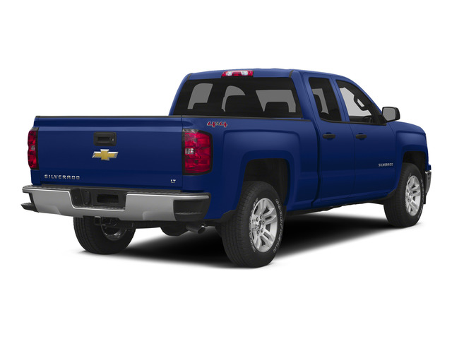 Deep Ocean Blue Metallic 2015 Chevrolet Silverado 1500 Pictures Silverado 1500 Extended Cab LTZ 2WD photos rear view