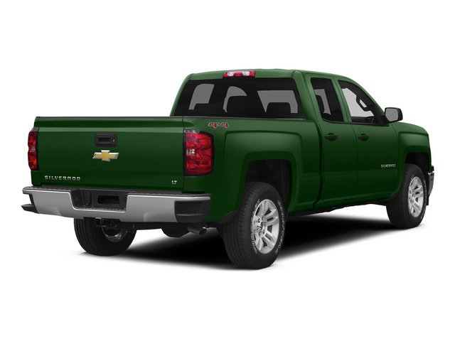 Rainforest Green Metallic 2015 Chevrolet Silverado 1500 Pictures Silverado 1500 Extended Cab LTZ 2WD photos rear view