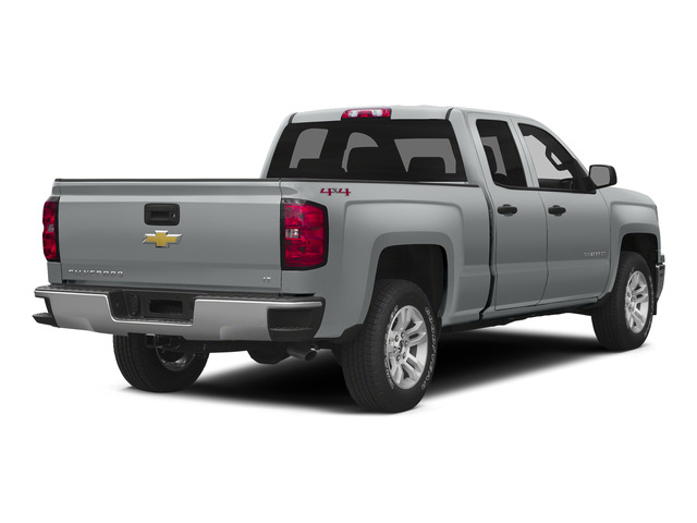 Silver Ice Metallic 2015 Chevrolet Silverado 1500 Pictures Silverado 1500 Extended Cab LTZ 2WD photos rear view
