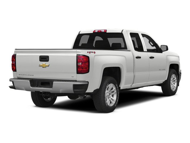 Summit White 2015 Chevrolet Silverado 1500 Pictures Silverado 1500 Extended Cab LTZ 2WD photos rear view