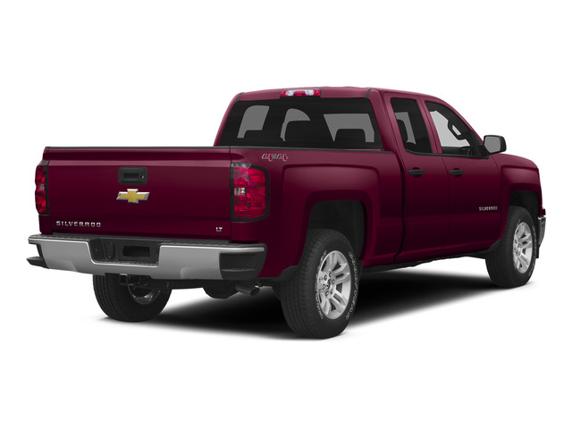 Deep Ruby Metallic 2015 Chevrolet Silverado 1500 Pictures Silverado 1500 Extended Cab LTZ 2WD photos rear view