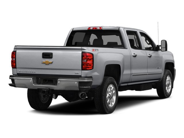 Silver Ice Metallic 2015 Chevrolet Silverado 2500HD Pictures Silverado 2500HD Crew Cab LTZ 4WD photos rear view