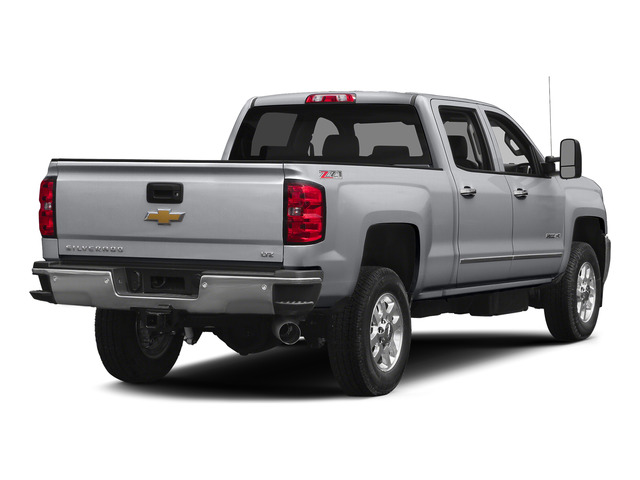 Silver Ice Metallic 2015 Chevrolet Silverado 2500HD Pictures Silverado 2500HD Crew Cab LT 4WD photos rear view