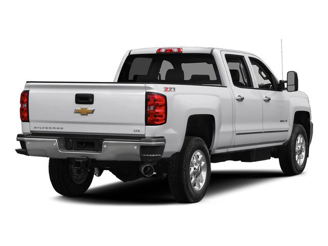 Summit White 2015 Chevrolet Silverado 2500HD Pictures Silverado 2500HD Crew Cab LT 4WD photos rear view