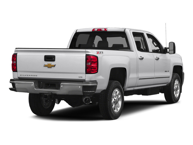 Summit White 2015 Chevrolet Silverado 2500HD Pictures Silverado 2500HD Crew Cab LTZ 4WD photos rear view