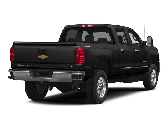 Black 2015 Chevrolet Silverado 2500HD Pictures Silverado 2500HD Crew Cab LTZ 4WD photos rear view