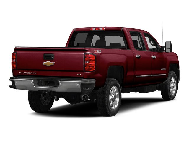 Deep Ruby Metallic 2015 Chevrolet Silverado 2500HD Pictures Silverado 2500HD Crew Cab LTZ 4WD photos rear view