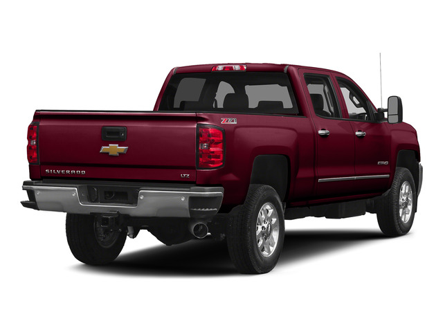 Deep Ruby Metallic 2015 Chevrolet Silverado 2500HD Pictures Silverado 2500HD Crew Cab LT 4WD photos rear view