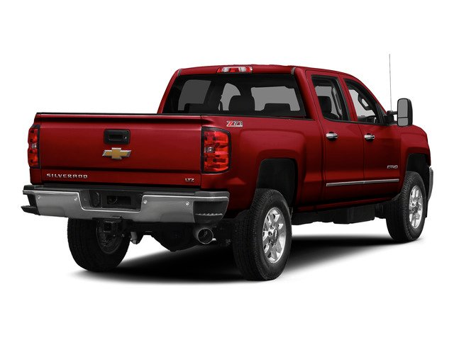 Victory Red 2015 Chevrolet Silverado 2500HD Pictures Silverado 2500HD Crew Cab LT 4WD photos rear view