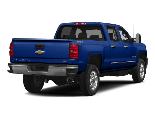 Blue Topaz Metallic 2015 Chevrolet Silverado 2500HD Pictures Silverado 2500HD Crew Cab LTZ 4WD photos rear view