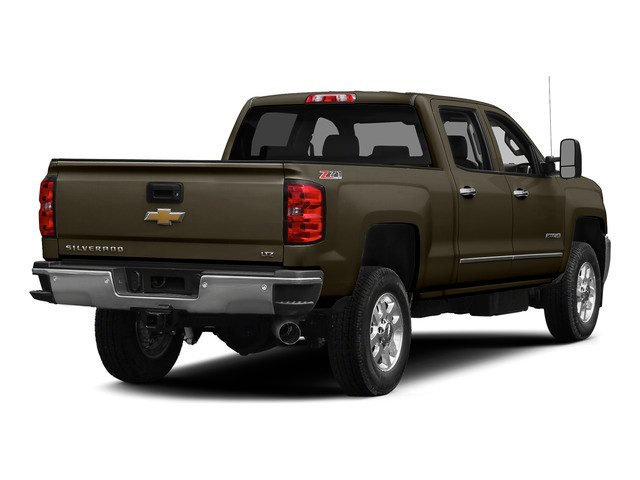Brownstone Metallic 2015 Chevrolet Silverado 2500HD Pictures Silverado 2500HD Crew Cab LTZ 4WD photos rear view
