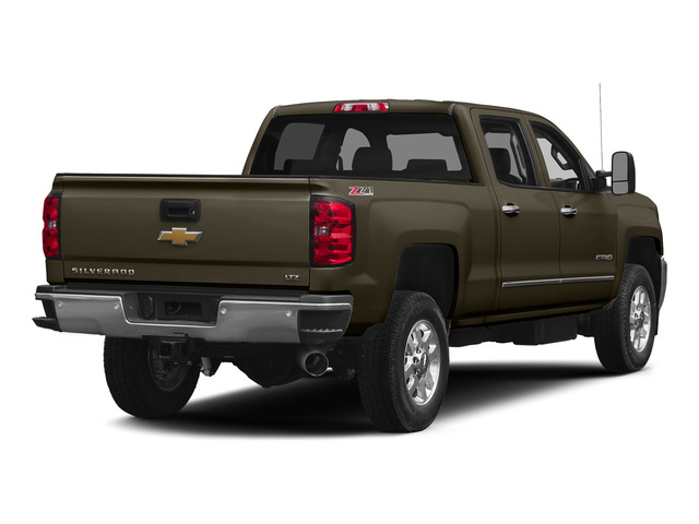 Brownstone Metallic 2015 Chevrolet Silverado 2500HD Pictures Silverado 2500HD Crew Cab LT 4WD photos rear view