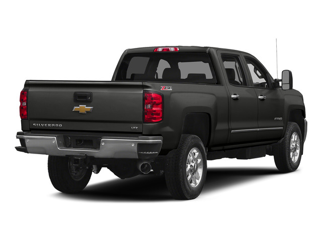 Tungsten Metallic 2015 Chevrolet Silverado 2500HD Pictures Silverado 2500HD Crew Cab LTZ 4WD photos rear view