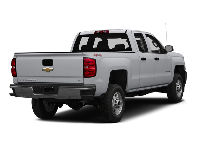 Silver Ice Metallic 2015 Chevrolet Silverado 2500HD Pictures Silverado 2500HD Extended Cab LTZ 2WD photos rear view