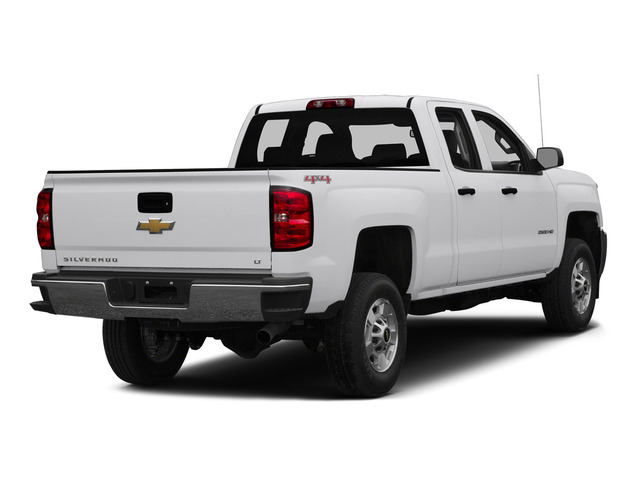Summit White 2015 Chevrolet Silverado 2500HD Pictures Silverado 2500HD Extended Cab LTZ 2WD photos rear view