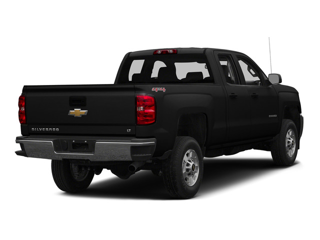 Black 2015 Chevrolet Silverado 2500HD Pictures Silverado 2500HD Extended Cab LTZ 2WD photos rear view