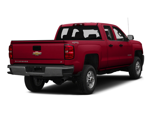 Victory Red 2015 Chevrolet Silverado 2500HD Pictures Silverado 2500HD Extended Cab LTZ 2WD photos rear view