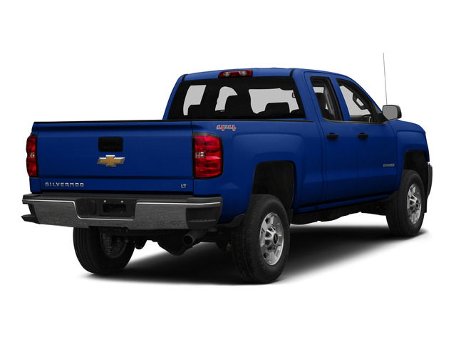 Blue Topaz Metallic 2015 Chevrolet Silverado 2500HD Pictures Silverado 2500HD Extended Cab LTZ 2WD photos rear view