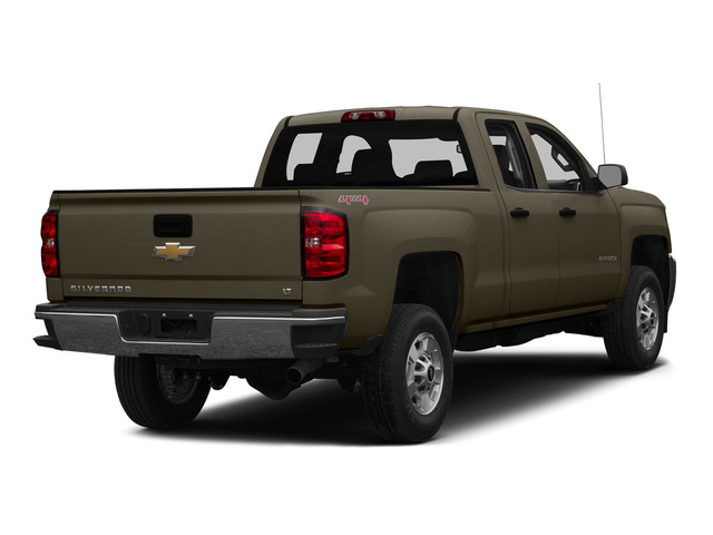 Brownstone Metallic 2015 Chevrolet Silverado 2500HD Pictures Silverado 2500HD Extended Cab LTZ 2WD photos rear view