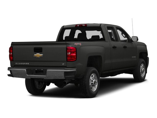 Tungsten Metallic 2015 Chevrolet Silverado 2500HD Pictures Silverado 2500HD Extended Cab LTZ 2WD photos rear view