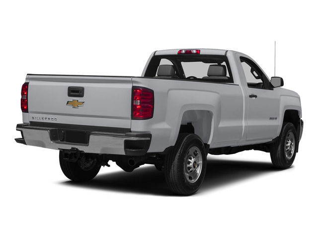 Silver Ice Metallic 2015 Chevrolet Silverado 2500HD Pictures Silverado 2500HD Regular Cab LT 2WD photos rear view