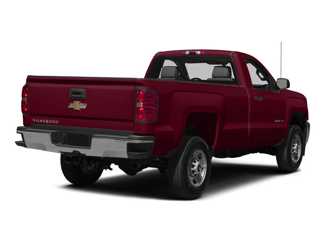 Deep Ruby Metallic 2015 Chevrolet Silverado 2500HD Pictures Silverado 2500HD Regular Cab LT 2WD photos rear view